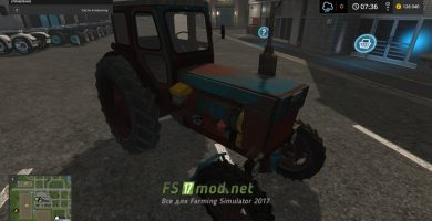 Трактор ЛТЗ Т-40АМ для игры Фарминг Симулятор 2017
