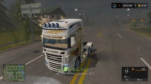 Мод на Scania R700 EVO для игры FS 2017