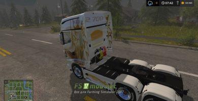 Мод на Scania R700 EVО