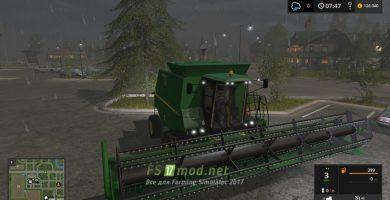 Мод на John Deere 1550 для Farming Simulator 2017