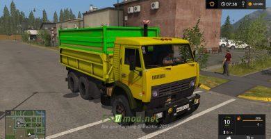 Мод на КАМАЗ 53212
