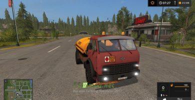 Мод на Топливозаправщик МАЗ 500