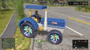 Crazy Lego Tractor