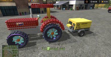 Мод на Crazy Lego Tractor