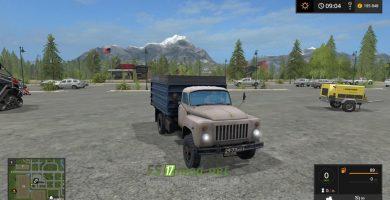 Мод на ГАЗ 53 для игры Фермер Симулятор 2017