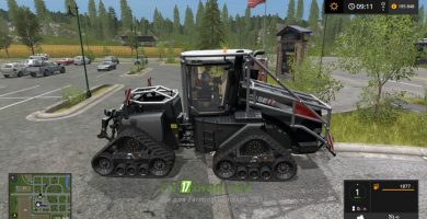 Мод на трактор Case Ih Quadtrac Forestry Addon