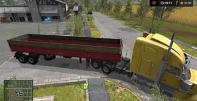 НЕФАЗ 9334 с грузовиком