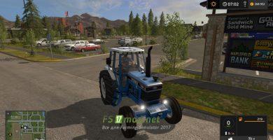 Мод на трактора Ford Tw Pack