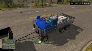 Мод на Metaltech Trailer Service для игры Farming Simulator 2017