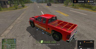 Автомобиль Chevrolet Silverado Sport для Farming Simulator 2017