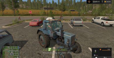Мод на трактор МТЗ 82 Малая Кабина