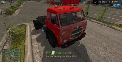 Мод на тягач Fiat 690 N4