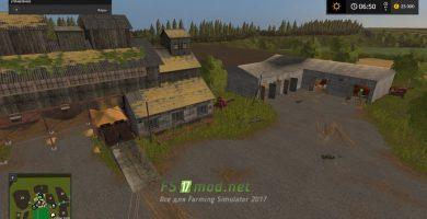 Карта Село Ягодное для игры Симулятор Фермера 2017