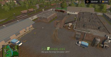 Карта Село Ягодное для игры