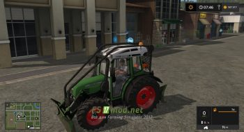 Мод на Fendt 209 Forst Edition