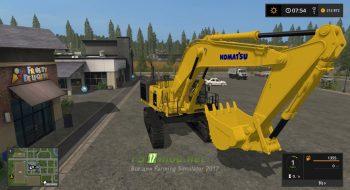 LSMTP Komatsu PC1250