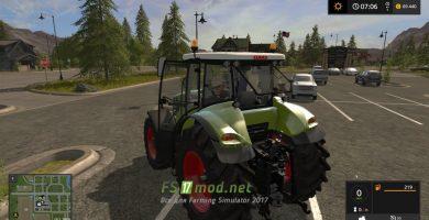 Трактор Claas Axion 800 для FS 2017