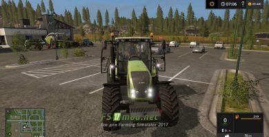 Трактор Claas Axion 800