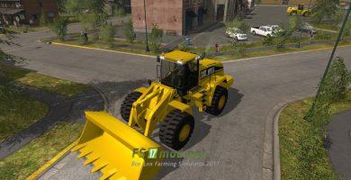 Мод на Caterpillar 980 25000L для игры Симулятор Фермера 2017