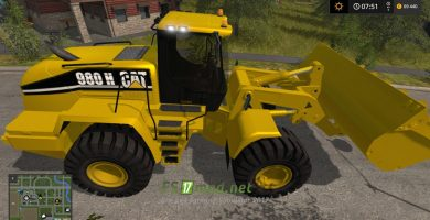 Мод на Caterpillar 980 25000L