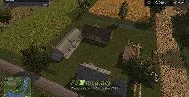 Ферма вид сверху