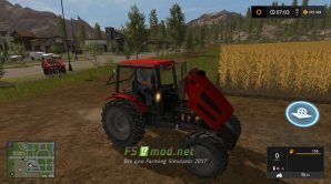 Трактор МТЗ-1221.4 для игры Фарминг Симулятор 2017