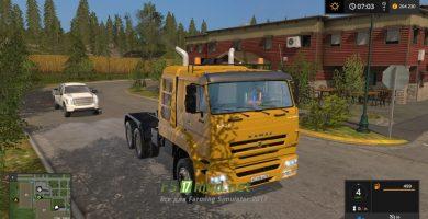 Мод на КАМАЗ-65226