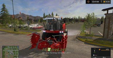Комбайн RSM 1401 Ростсельмаш для Farming Simulator 2017