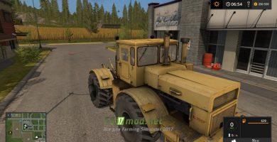 Мод на Кировец K-701P (Externe Modder) для игры Farming Simulator 2017