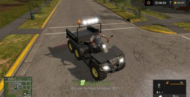 Мод на Polaris Sportsman Big Boss 6X6 8.9 MB