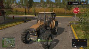 Мод на URSUS 1224 Turbo GR Mokrzyn для игры Симулятор Фермера 2017