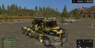 Scania 112 Forest Multi-Color
