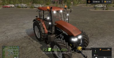 Мод на New Holland TМ Series (175/190) для Farming Simulator 2017