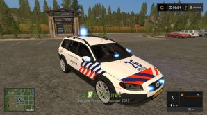Мод на Volvo Politie для игры Симулятор Фермера 2017