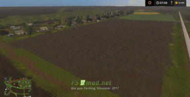 Огромное поле