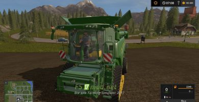 Мод на John Deere 6800 для игры Farming Simulator 2017