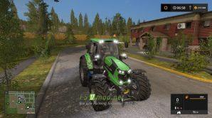 Мод на Deutz Fahr TTV для игры Farming Simulator 2017