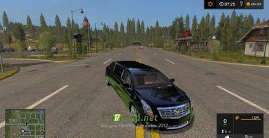 Мод на Cadillac XTS Limo