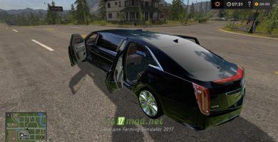 Мод на Cadillac XTS Limo для игры Симулятор Фермера 2017