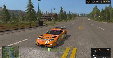 Мод на автомобиль Corvette C5r Racing
