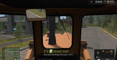 T-170 вид с кабины