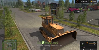 Мод на T-170 для Farming Simulator 2017