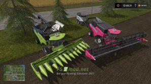 Мод на New Holland CR10 90 Pack для игры Farming Simulator 2017