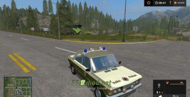 автомобиль Lada Volkspolizei