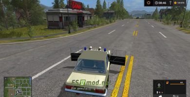 Мод на автомобиль Lada Volkspolizei