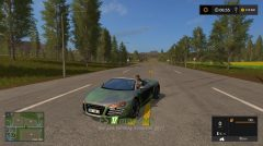 AUDI R8 Spyder Green Decal