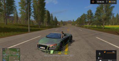 AUDI R8 Spyder Green Decal