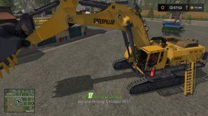 Мод на Caterpillar 6015B для игры Симулятор Фермера 2017