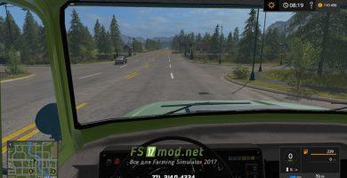 Мод на грузовик ЗИЛ-4334