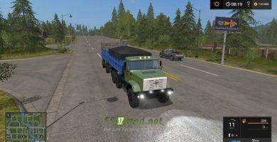грузовик ЗИЛ-4334
